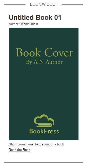 Single Book Widget